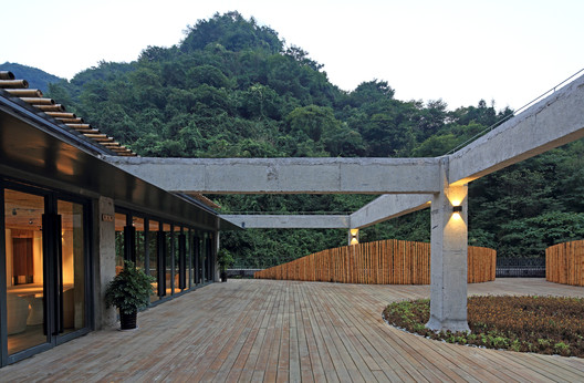 Roof terrace view. Image © Guangyuan Zhang