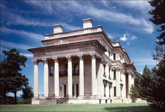 Vanderbit Mansion at Hyde Park, NY