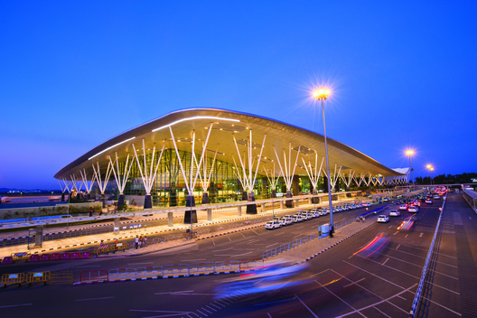 IMG_8249_Fin_BIAL_Credit Kempegowda International Airport / HOK Architecture