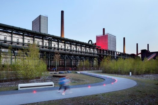 Zollverein Park, Essen, Germany / Planergruppe GmbH Oberhausen. Image Courtesy of Claudia Drey