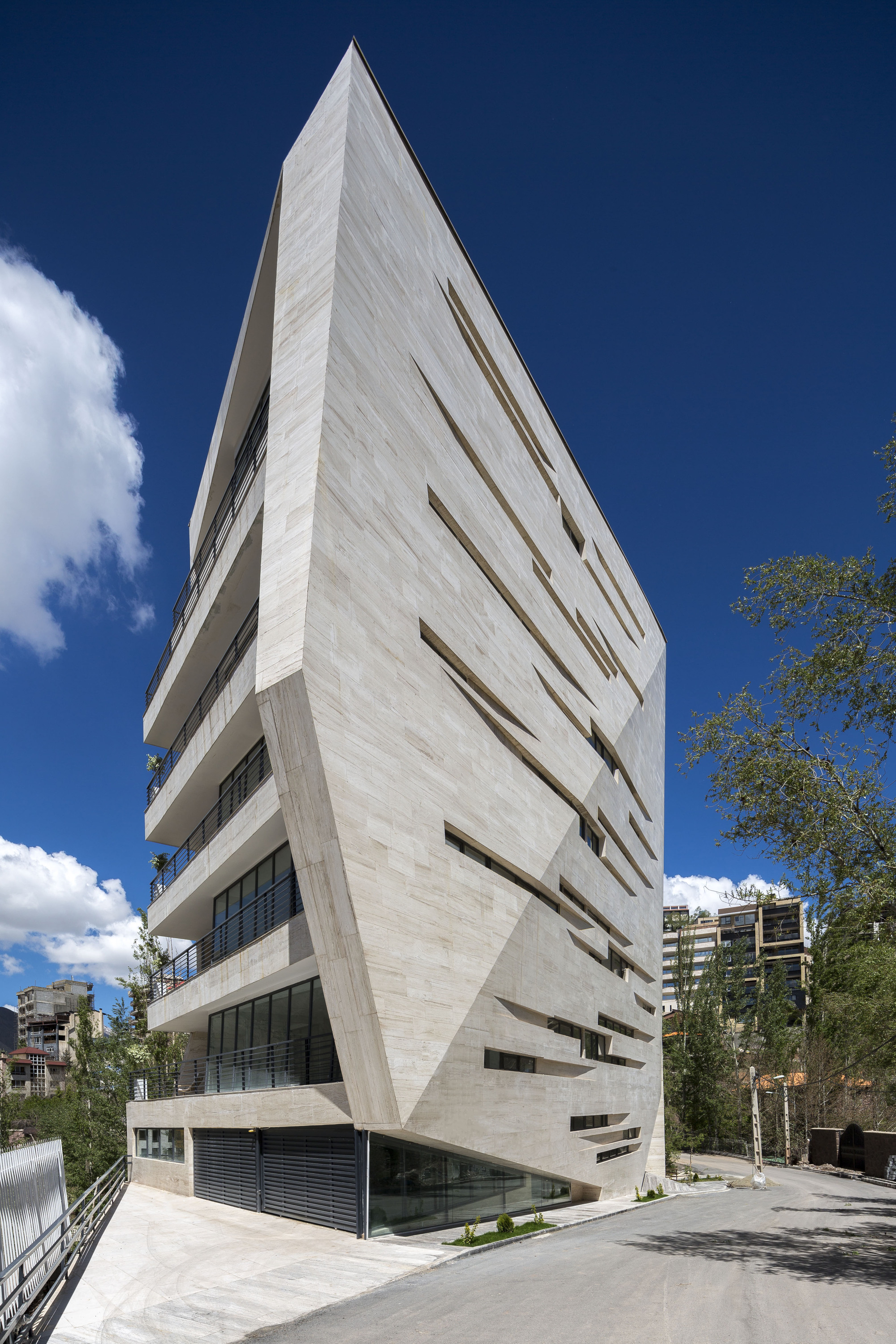 Residential Complex In Meygoon New Wave Architecture