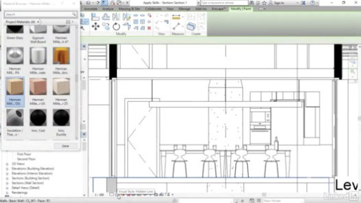 via Revit for Interior Architecture / Lynda.com