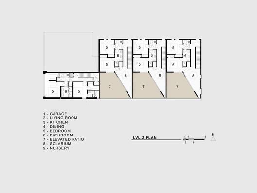 lvl_2_plan Jason Street Multifamily / Meridian 105 Architecture Architecture