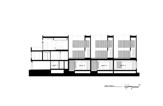 SECTION_2 Jason Street Multifamily / Meridian 105 Architecture Architecture