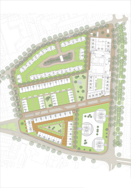 Villa_Industria_site_plan Masterplan Villa Industria / Mecanoo Architecture