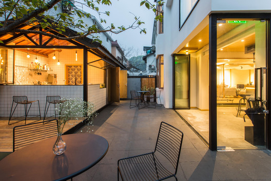 Yard_5 Qiyun Boutique Hotel / Quanwen Interior Design Architecture