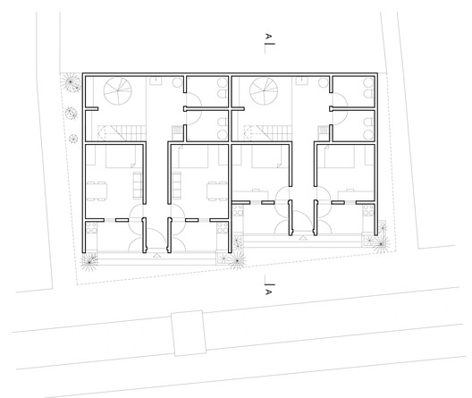Plan_1 Compact Housing in the Informal Settlements of Maputo / Casas Melhoradas Architecture