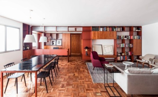 Apartamento Terracota / AR Arquitetos. Image © Maira Acayaba