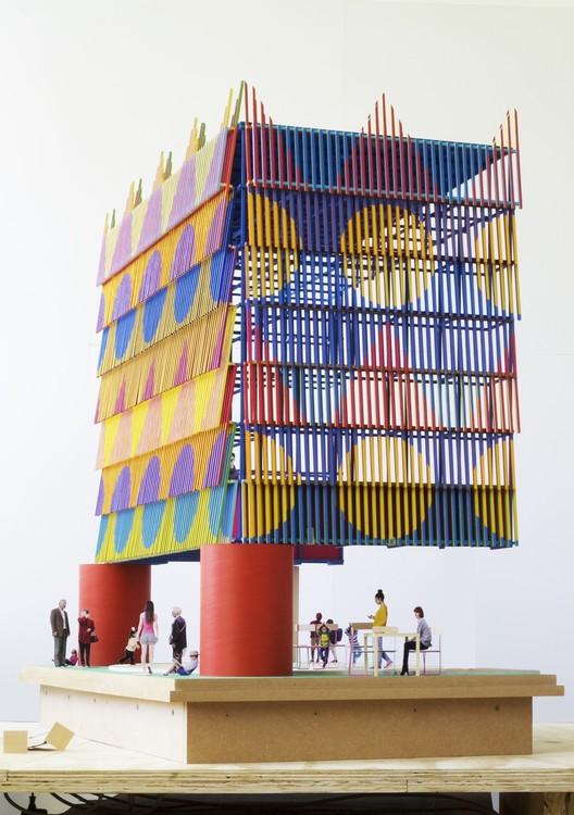 1:10 Model. Image Courtesy of Pricegore and Yinka Ilori