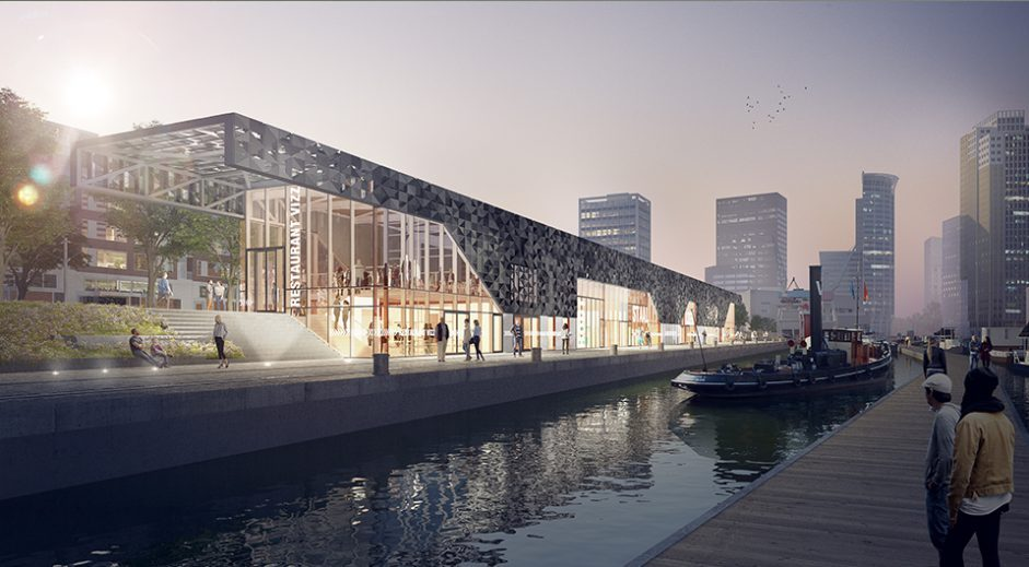 Gallery Of New Pavilion In Rotterdam S Leuvehaven Port