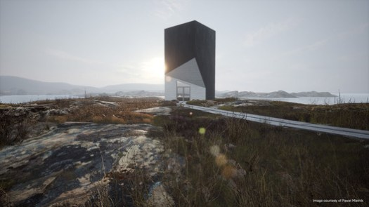 Tower Studio by Pawel Mielnik, rendered in real time with Unreal Engine