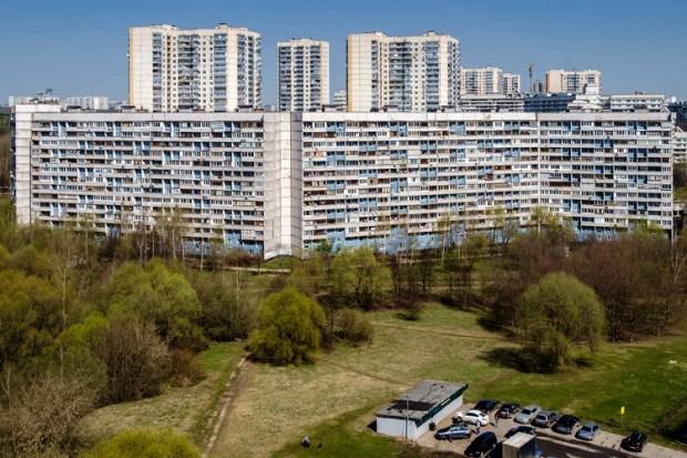 Distrito de Severnoye Chertanovo. Imagen Cortesía de glokaya_kuzdra / lori.ru