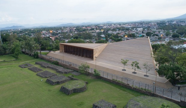 Centro Cultural Teopanzolco / Isaac Broid + PRODUCTORA. Image © Javier Navarro Soto