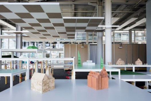 The architecture school at Nantes featuring Formes Indexees by Block Architectes. Image © Philippe Piron and LVAN