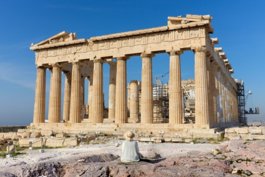 The Parthenon ruins, Acropolis of Athens, Greece. © Kristoffer Trolle via VisualHunt.com / CC BY