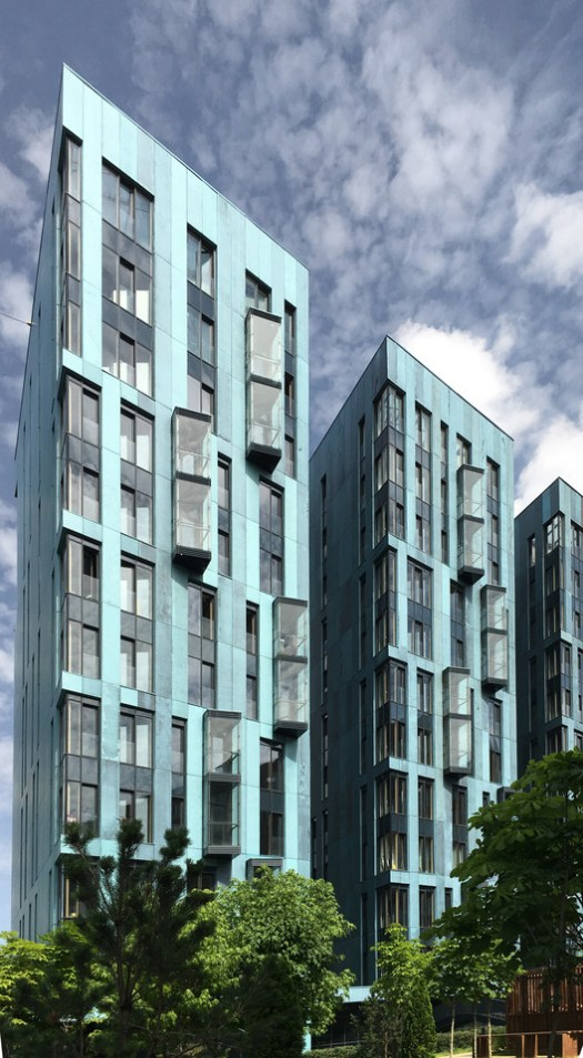 Garden Blocks / Sergey Skuratov Architects. Image Courtesy of Sergey Skuratov Architects
