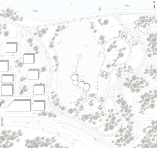 Site Plan. Image Courtesy of Space4Architecture