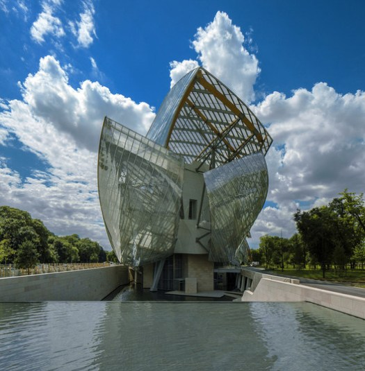 Louis Vuitton Foundation, Frank Gehry Architects. Image © Todd Eberle