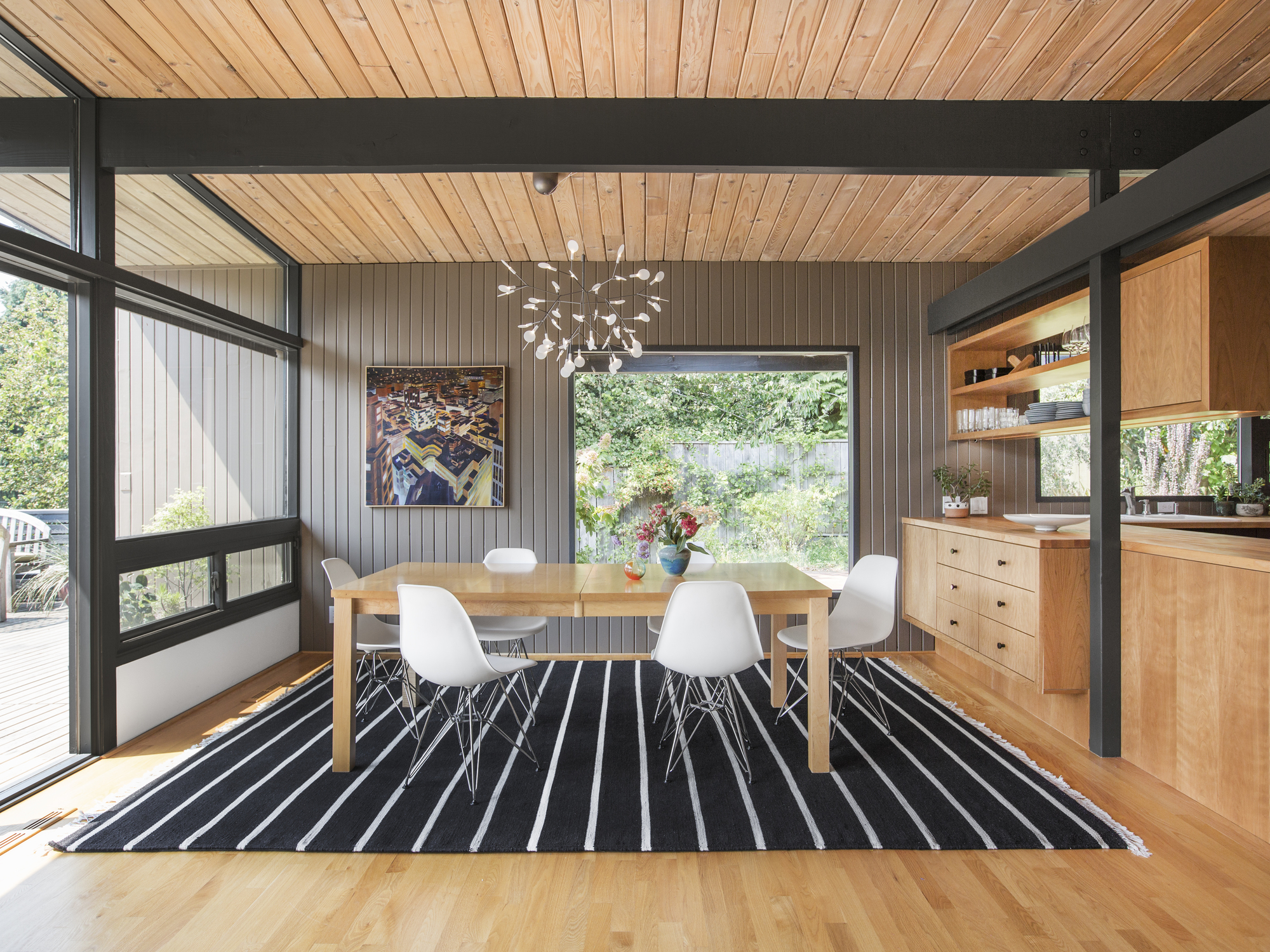 Hillside Midcentury Shed Architecture Design Archdaily