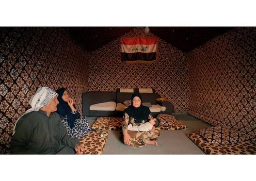 Iraqi Refugee Shelter. The Human Shelter. Image Courtesy of Boris Bertram