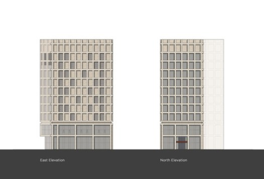 North + East Elevations
