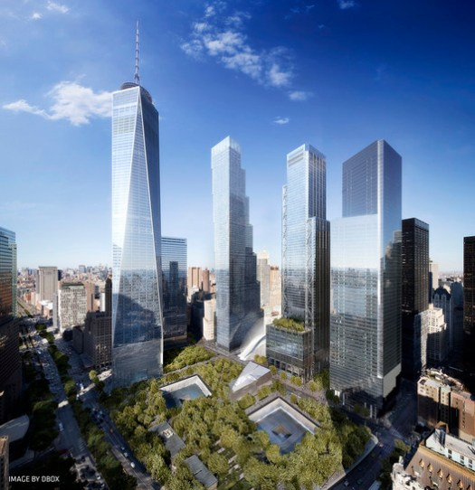 2 World Trade Center by BIG. Image © DBOX, Courtesy of BIG