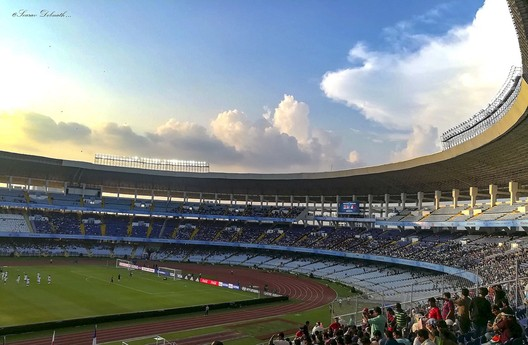 24. Salt Lake Stadium / Kolkata, India. Image wikimedia user Debnathsonu 1996. Licensed under CC BY-SA 4.0