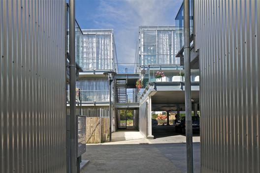 23 Semi-collective Housing Units / Lacaton & Vassal . Image © Philippe Ruault