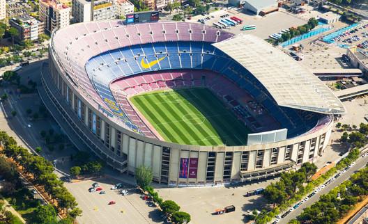 11. Camp Nou / Barcelona, Spain. Image via Iakov Filimonov / Shutterstock.com