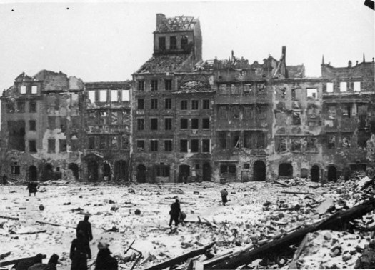 Warsaw - Before. Image Courtesy of Wikimedia User Jarekt Under Public Domain