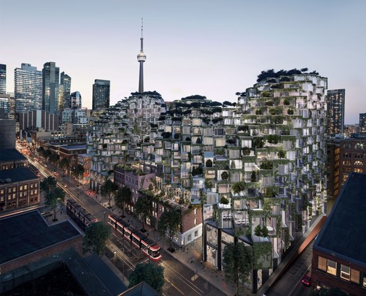 King Street West. Image Courtesy of Bjarke Ingels Group