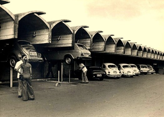 Disbrave Car Dealership / João Filgueiras Lima (Lelé). Image via Disbrave
