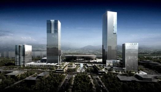 Shenzhen Gate. Image Courtesy of FGP Atelier