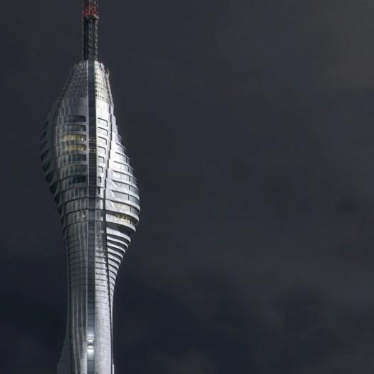 Çamlıca TV and Radio Tower. Image Courtesy of MIR