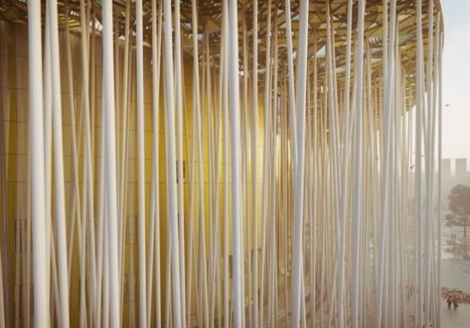 Wuxi Show Theatre. Image Courtesy of Steven Chilton Architects