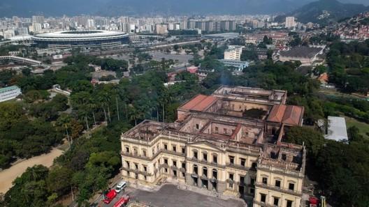National Museum. Image: Mauro Pimentel/AFP