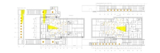 Floor Plans and Elevation - Ticket Hall