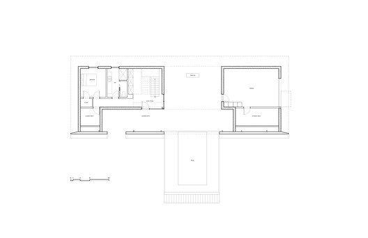 GROUND_FLOOR_PLAN Treow Brycg House / Omar Gandhi Architect Architecture
