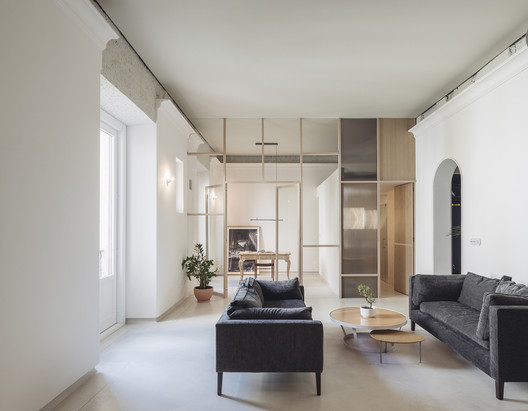 180911_Ideo_Arq_Reforma_Noviciado_013 House in Palacio / Ideo arquitectura Architecture