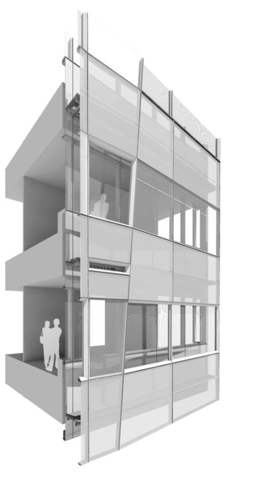 Facade detail Cornell  Weill Medical Centre