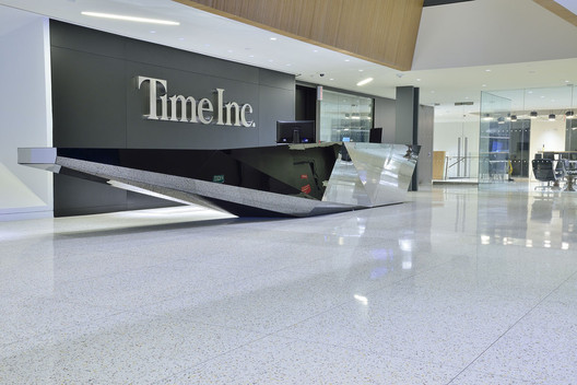 Terrazzo's durable floors in Time Inc.'s headquarters. [Photo: Courtesy of Terrazzo & Marble Supply Companies]