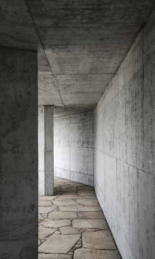 Leisure pavilion interior. Image © Peiru Yin