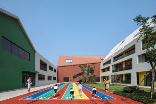 Independent U-shaped Unit Of Kindergarten. Image © Shengliang Su