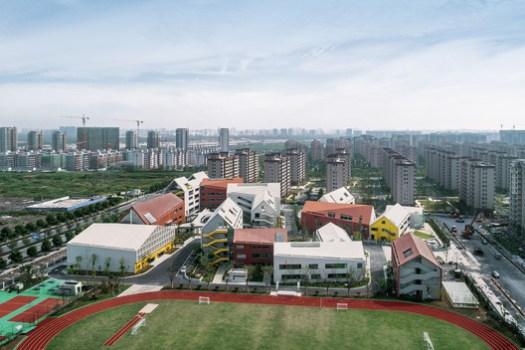 West Aerial View. Image © Qingshan Wu