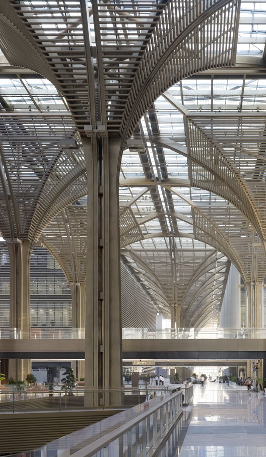Cultural concourse. Image © Christian Gahl