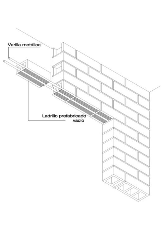 Brick Lintel Detail