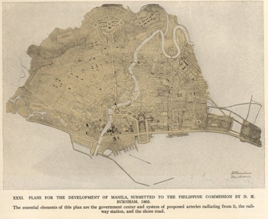 Another depiction of Burnham's master plan for Manila.