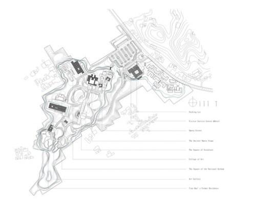 General layout plan