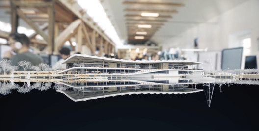 Still from video by 3XN of the Sydney Fish Market. Image Courtesy of 3XN