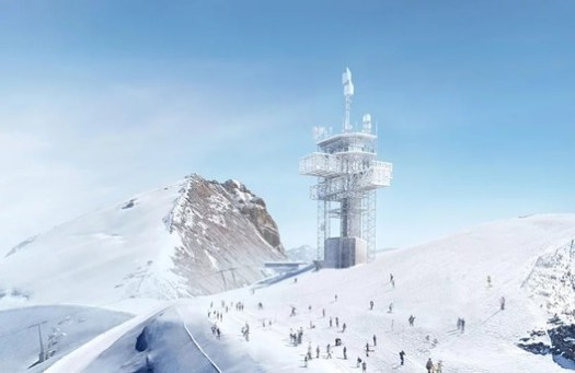 Titlis Summit Station. Image Courtesy of Herzog & de Meuron